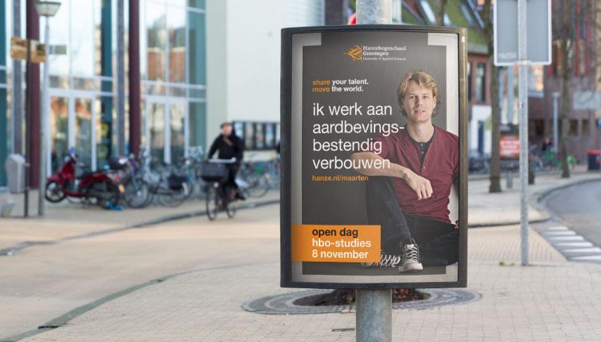 Huisstijl Hanzehogeschool Groningen