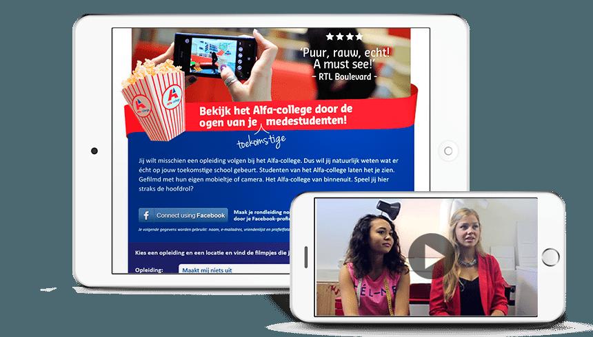 App ontwikkeling Alfa-college
