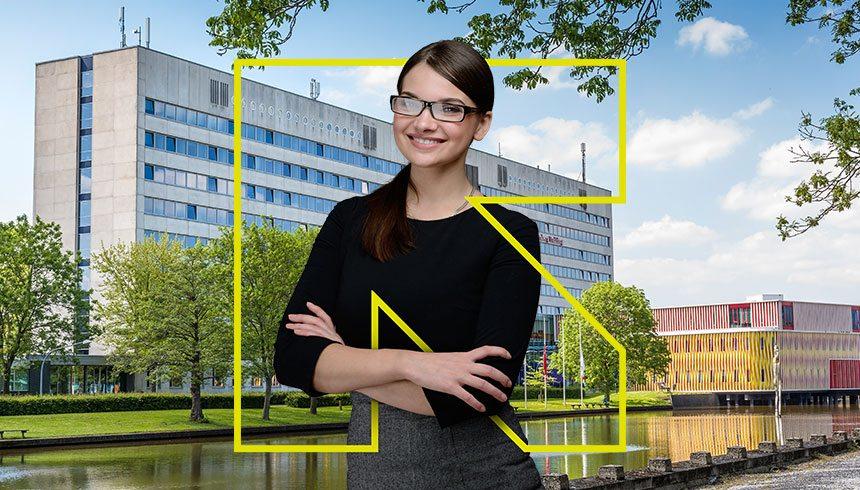 Gebiedscommunicatie zernike campus groningen ontwikkeld for Door new dizain