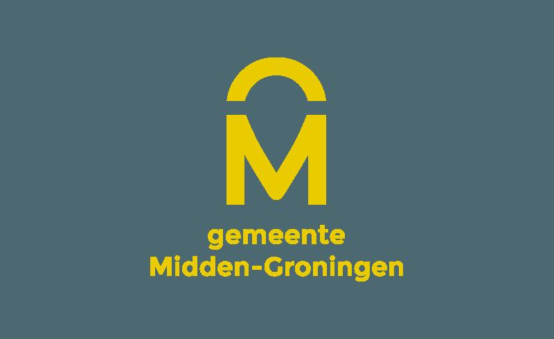 Logo nieuwe gemeente Midden-Groningen